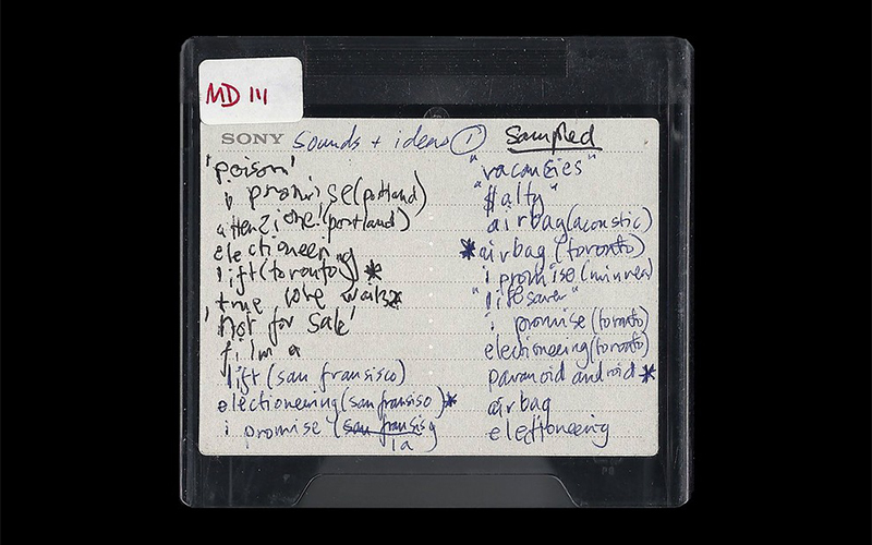 radiohead tapes